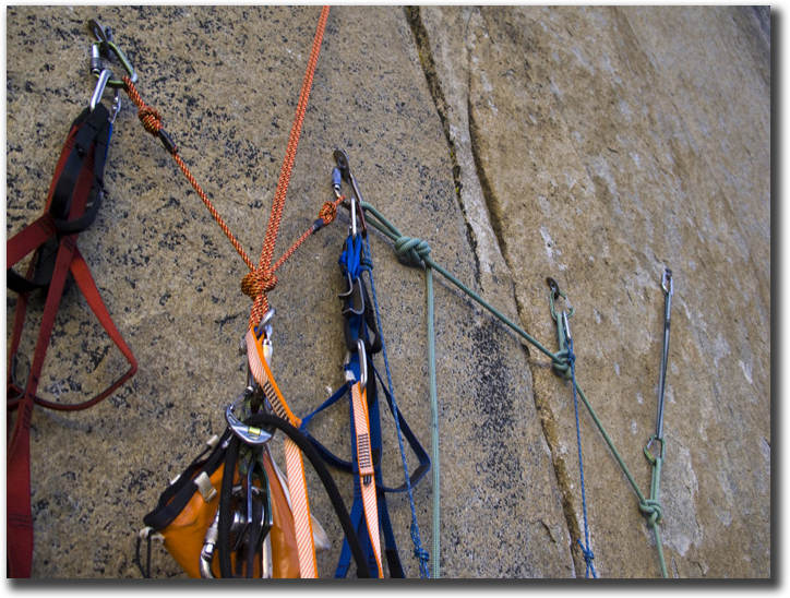 how to set up a climbing anchor